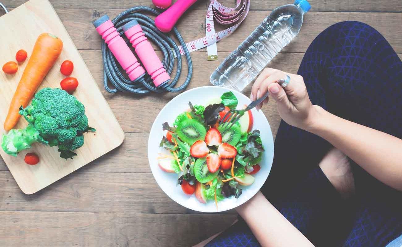 vida-saludable-comida-y-ejercicio