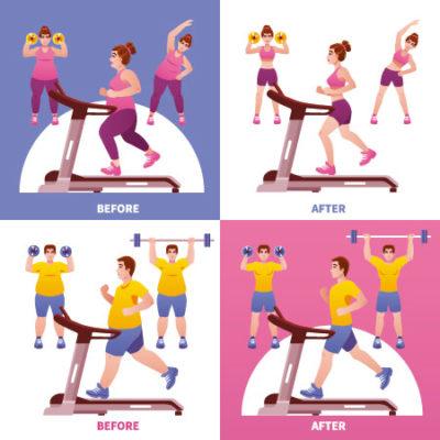 Obesidad: ¿dieta o ejercicio?